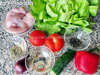 Salata de pui ingrediente reteta