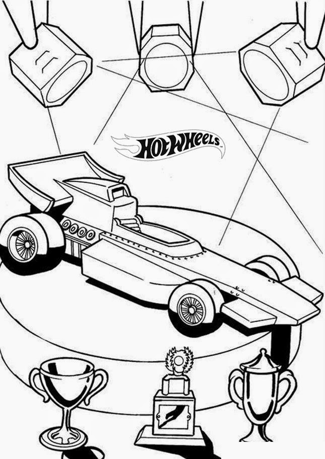 Hot Wheels Coloring Pages 12