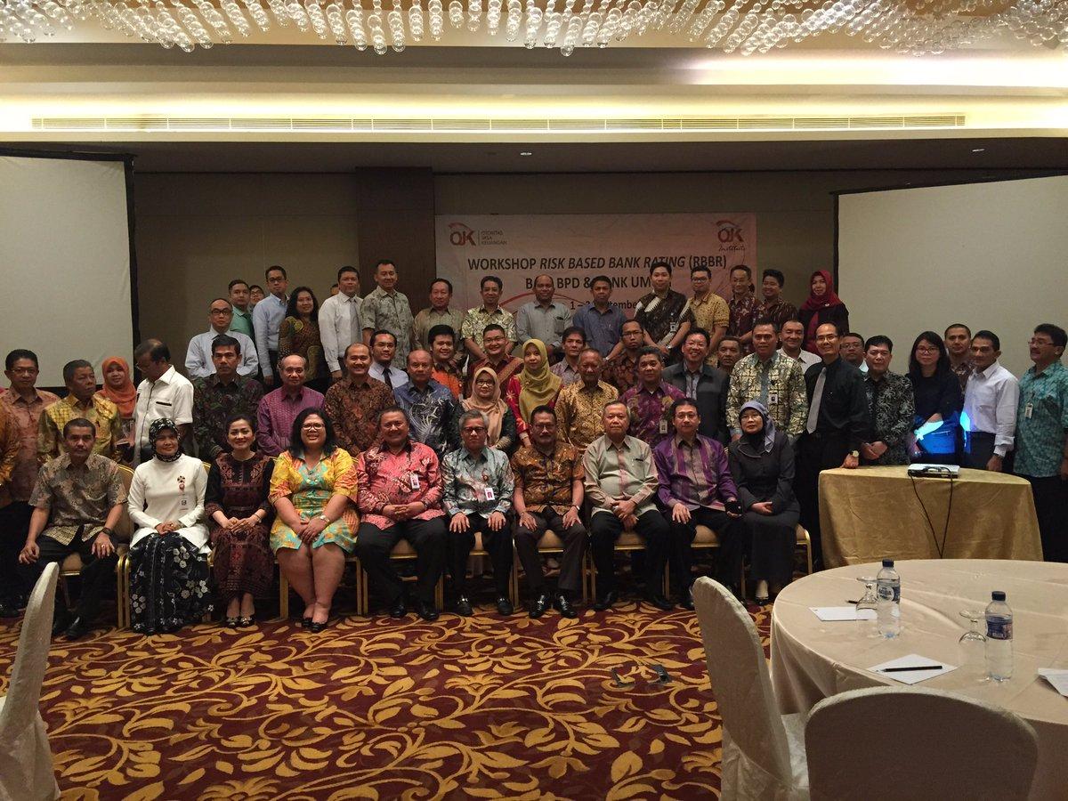 OJK Workshop for Risk Management and Governance di Medan