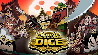 Screenshots of the Emperors dice for Android tablet, phone.