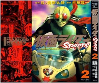 [Manga] Kamen Rider SPIRITS Vol.02