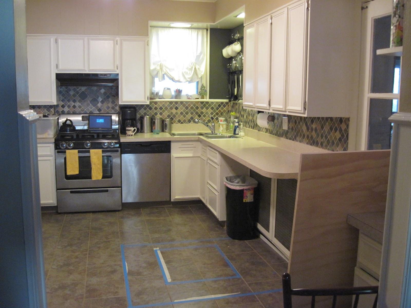 our old abode diy kitchen peninsula