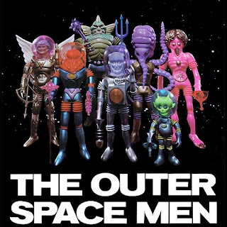 Colorforms Outer Space Men Figures