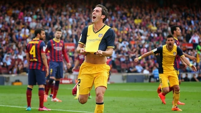 Diego Godin Pemain Atletico Madrid