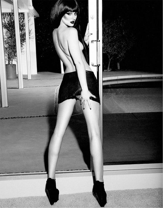 Leighton Meester, de la série Gossip Girl, pose Topless pour le magazine Flaunt