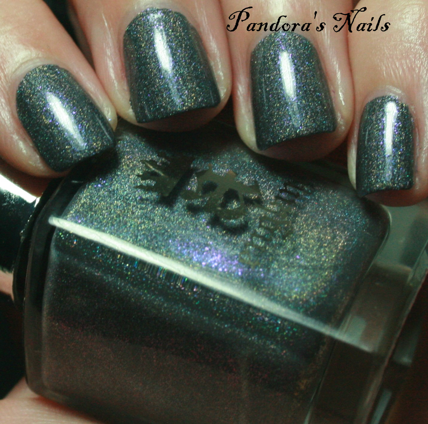 Pandora\'s Nails: a-england Jane Morris and Lynnderella Lucky Numbers