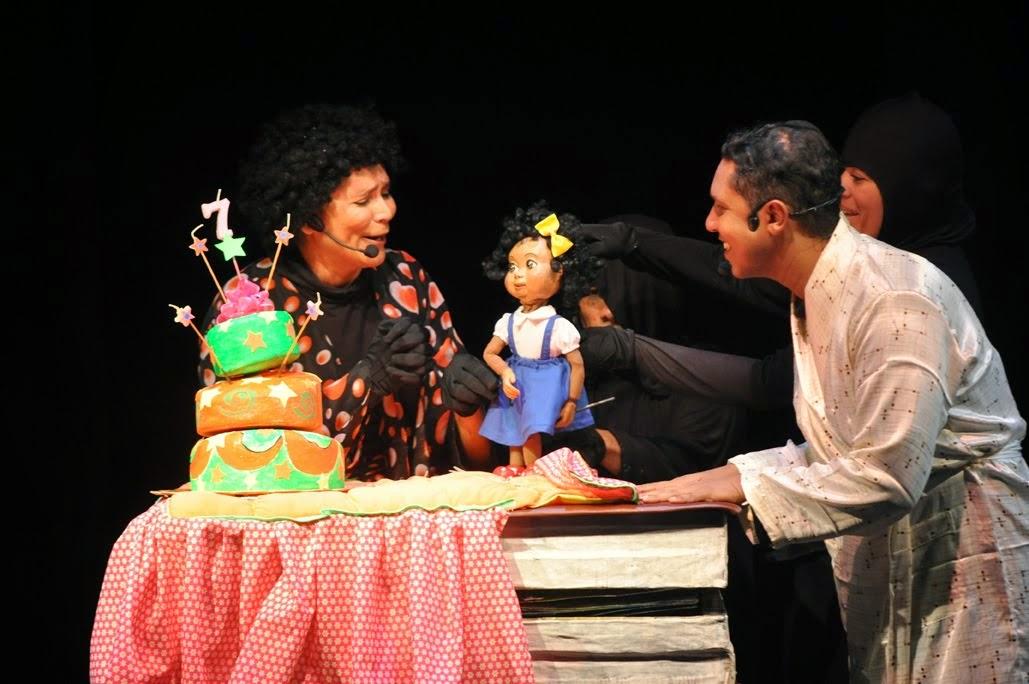 Luna  Lunita con su mamá y su papá