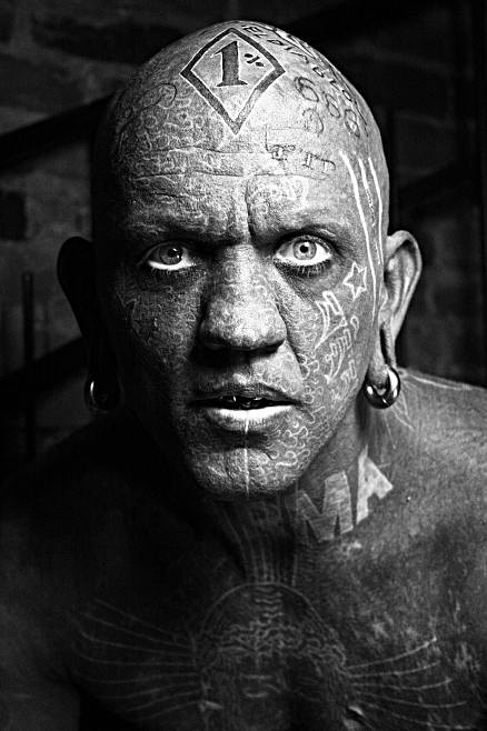 most tattooed man. Most tattooed man: Lucky