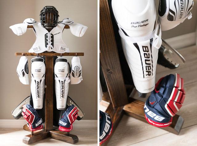 Matt Stenzel Blog A Drying Rack For Hockey Equipment