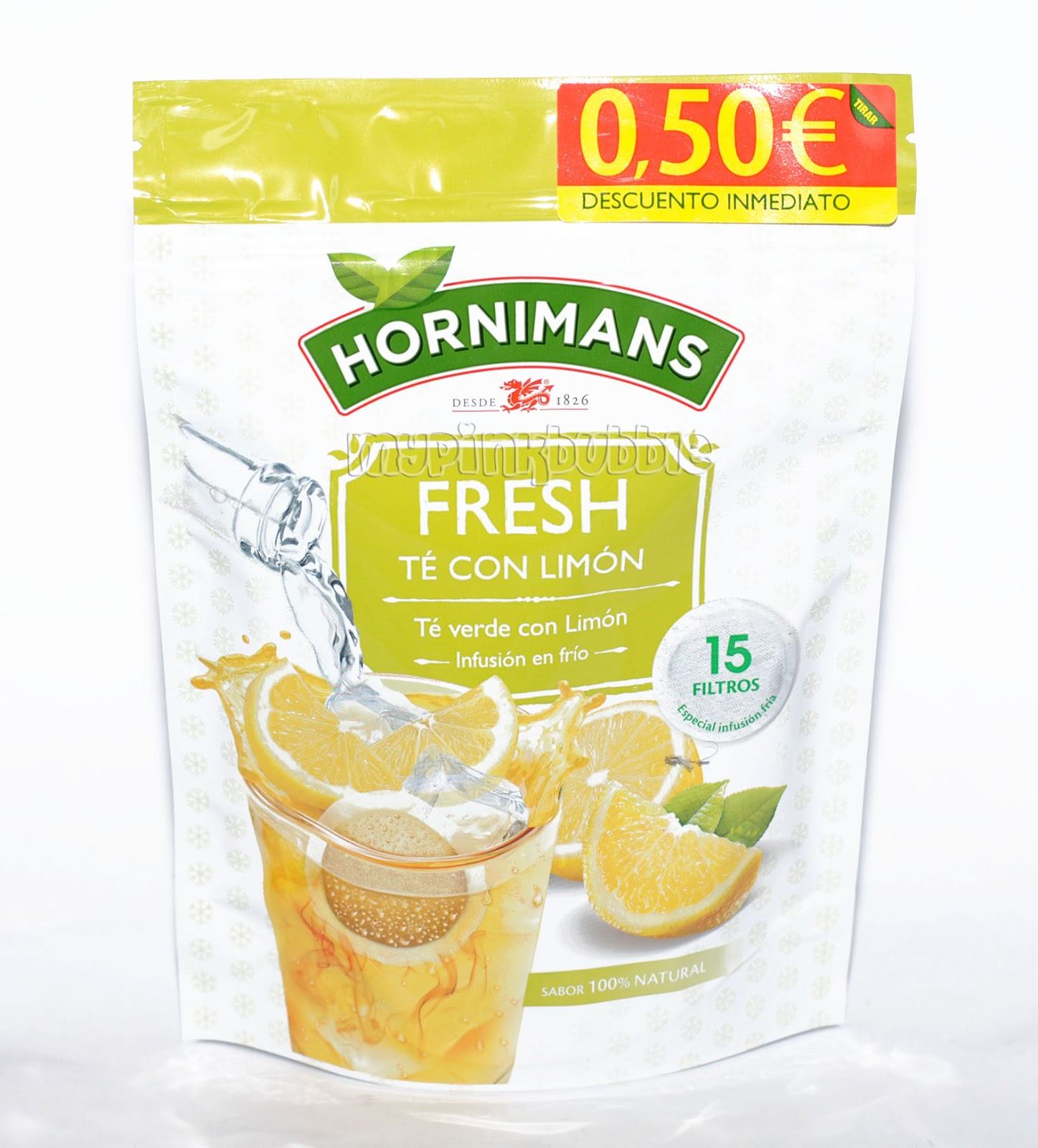 Hornimans Fresh te con limon