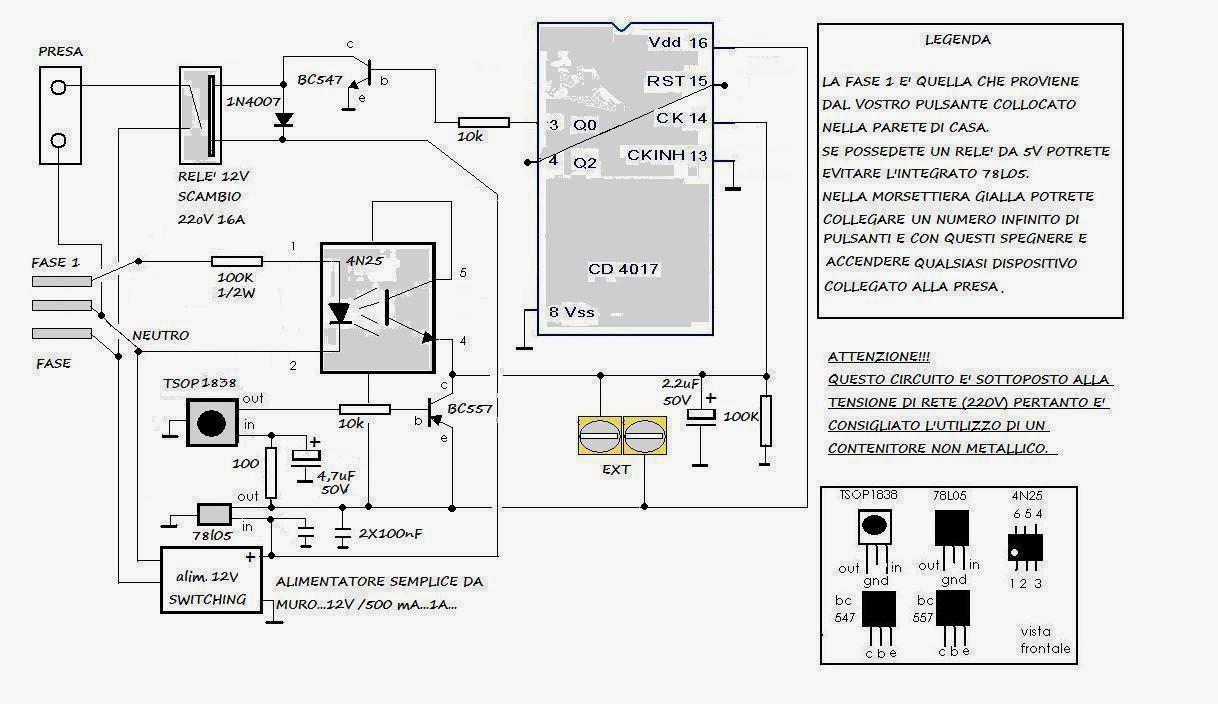 Schema Elettrico Per Lampadario : Mie soluzioni chiudi quella luce