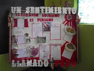 Voces lourdinas 35 concurso de ambientaci n de aulas por for Diario mural fiestas patrias chile