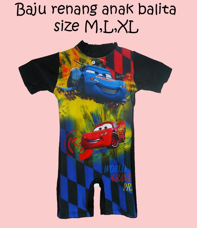Baju Renang Murah Baju Renang Anak Karakter CAR
