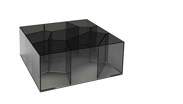 Minimal glass coffee table modern design by for Minimal table design