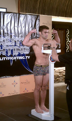 Ryan Quinn Reality Fighting Weigh-In