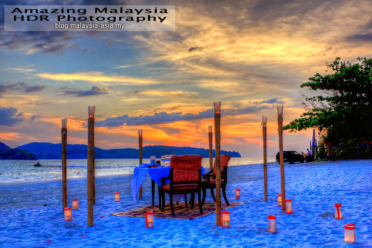 Romantic Dinner in Langkawi