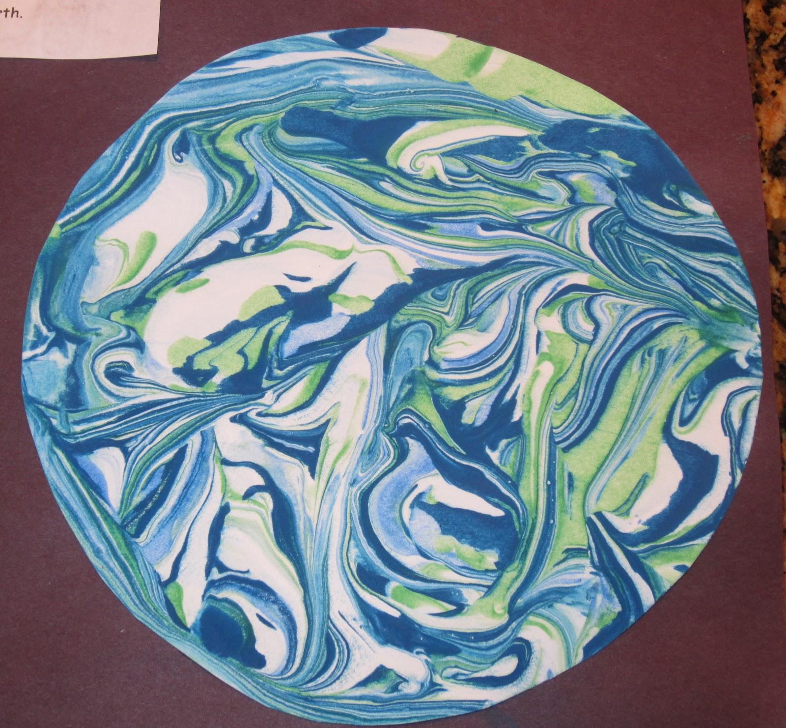 preschool planets art - photo #26