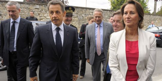 Sarkozy Royal Charente La Rochefoucauld
