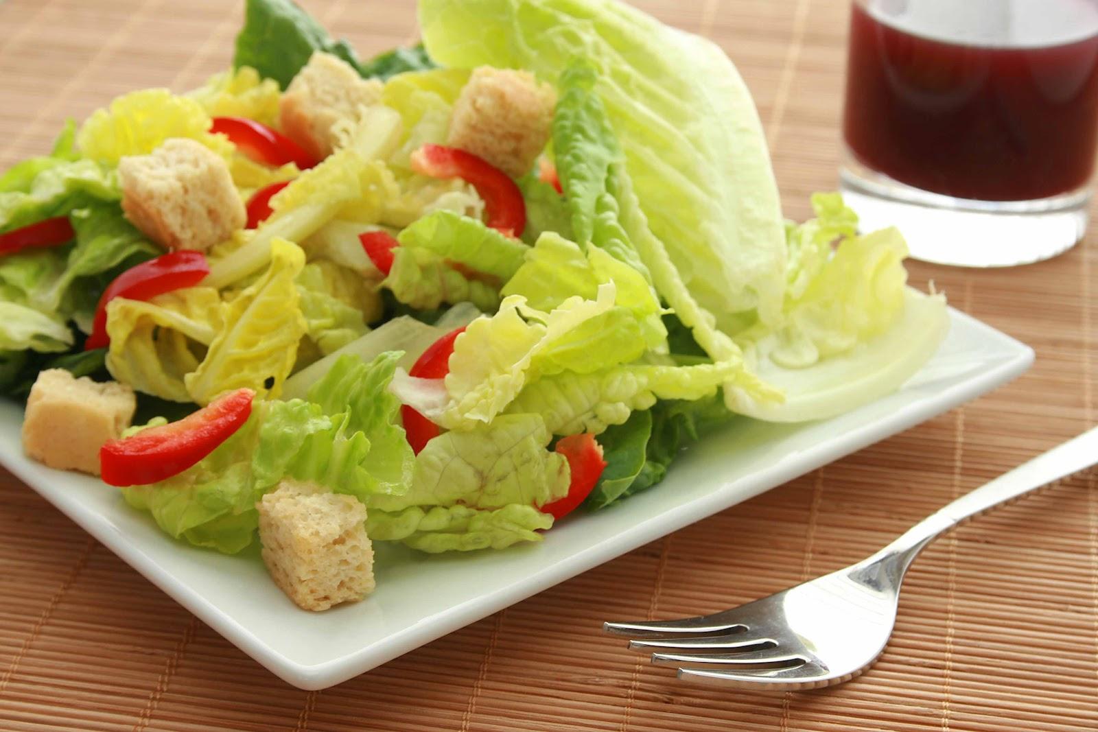 Салат из айсберга рецепт легкий