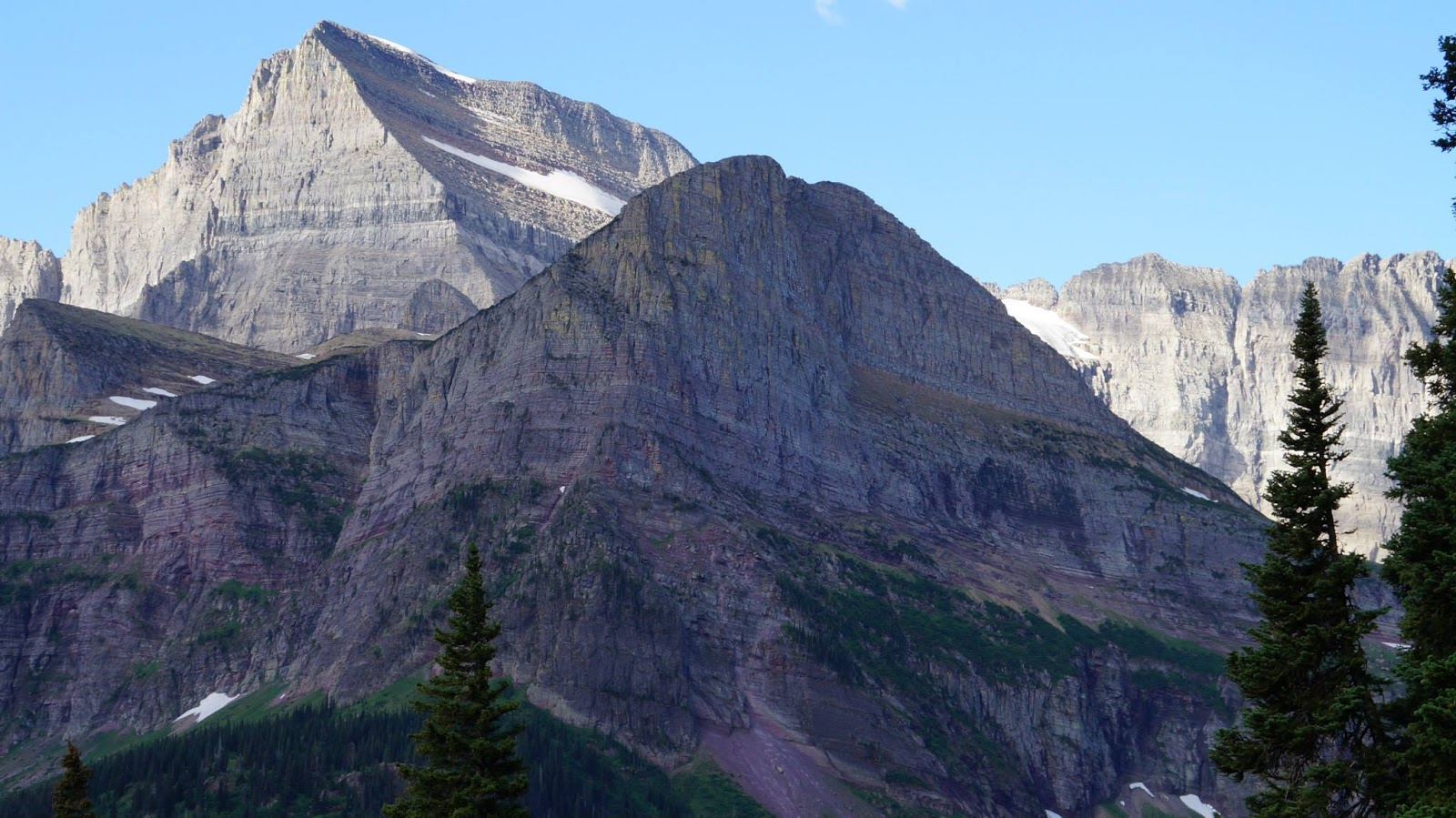 mount gould behind grinnell - photo #4