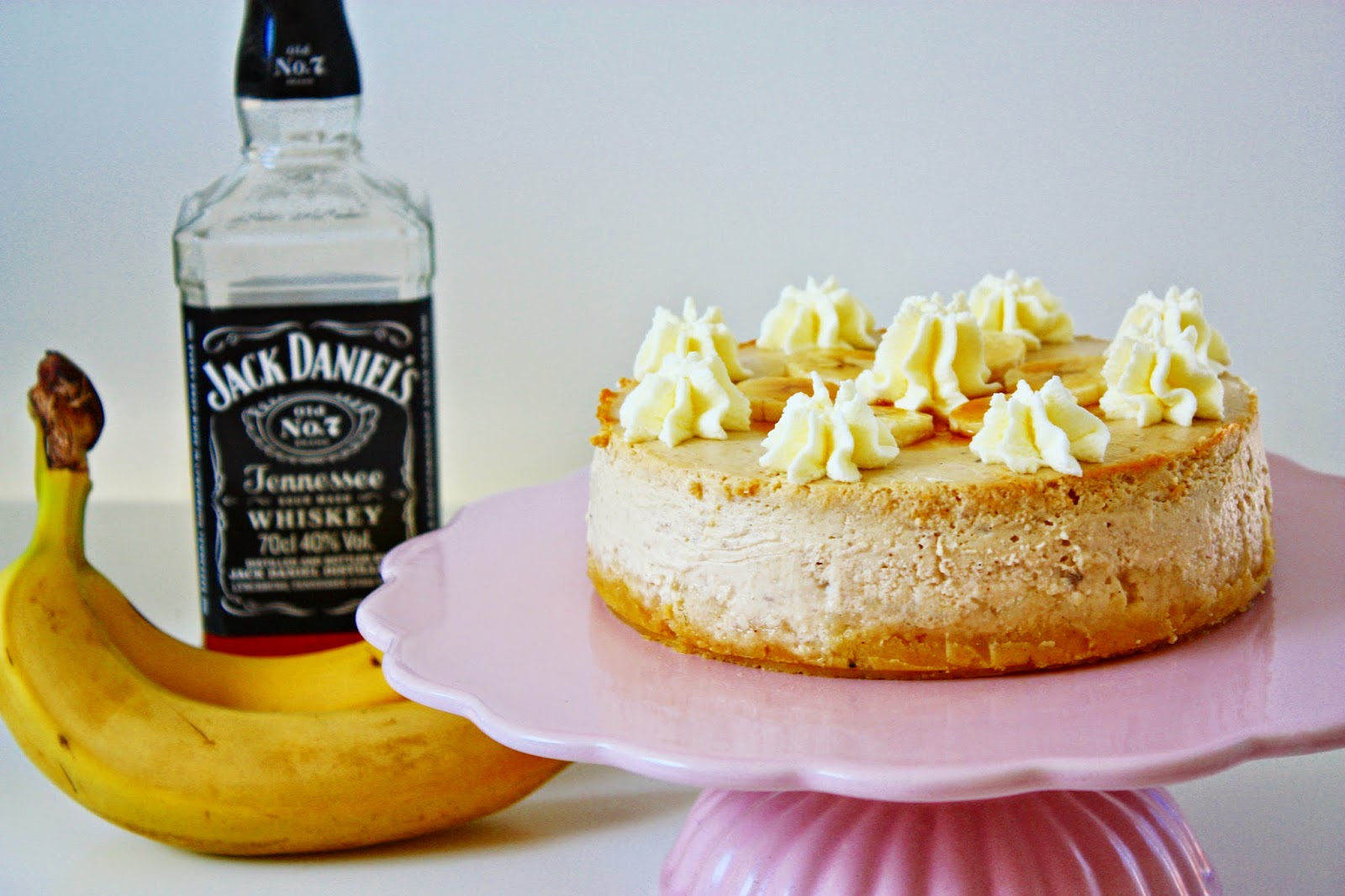 Banana Bourbon Cheesecake