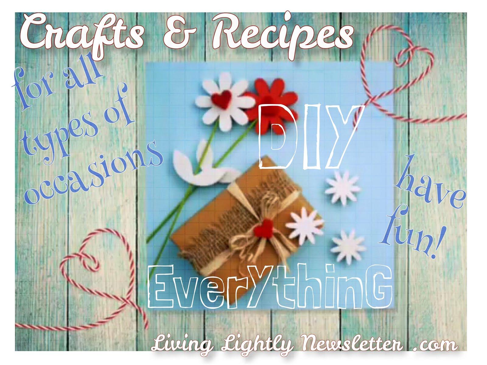 Manifesting, Crafts & Recipes!