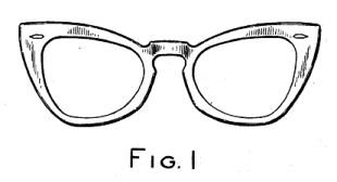 Raymond Segemand, Ray-Ban Wayfarer rysunek patentowy.