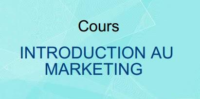 Cours Marketing de base