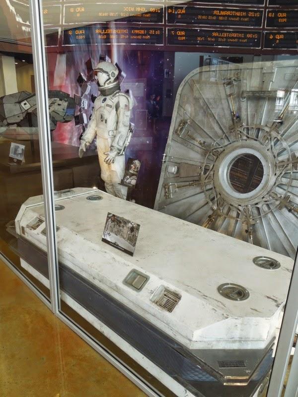 Interstellar NASA spacesuit cryobed prop