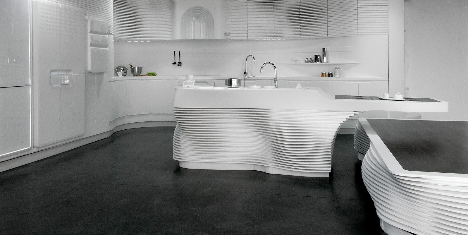 Arquitectura - Arquidea: Nuevas cocinas de diseño por HI-MACS
