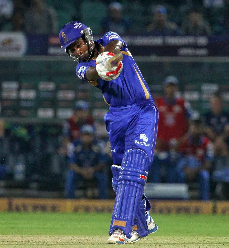 Sanju-Samson-Rajasthan-Royals-vs-Mumbai-Indians-M1-CLT20-2013