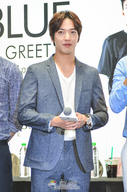 CNBLUE Yong Hwa - CNBLUE x The Class Meet and Greet @ Mid Valley Megamall