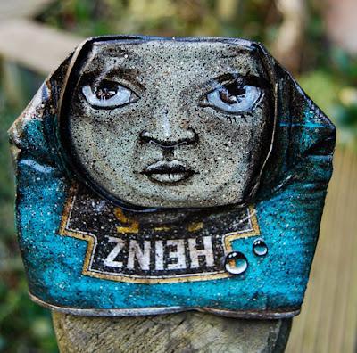 Arte con lata reciclada