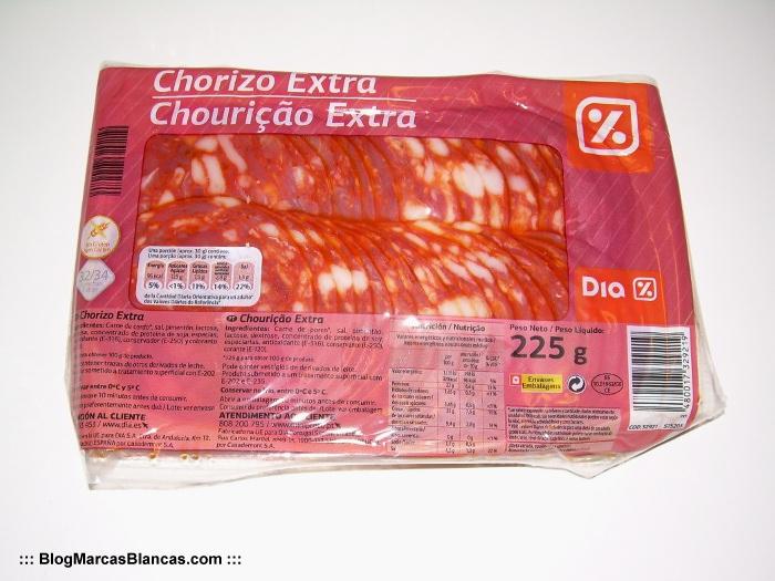 Chorizo extra en lonchas DIA