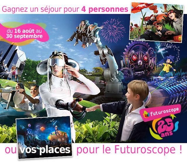 Grand concours Parc du Futuroscope