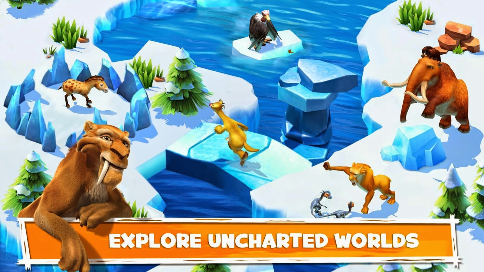 Ice Age Adventures Apk Mod (Unlimited Everything) Terbaru 2015