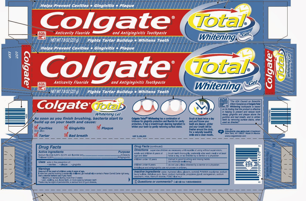 benefits of colgate toothpaste What are the benefits of this chemical ingredient in 2013, studies showed that toothpastes with triclosan and fluoride outperformed those with only fluoride .