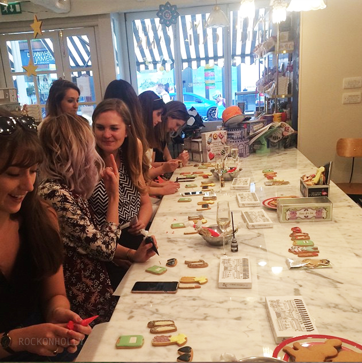 Biscuiteers Blogger Event Fashionchick