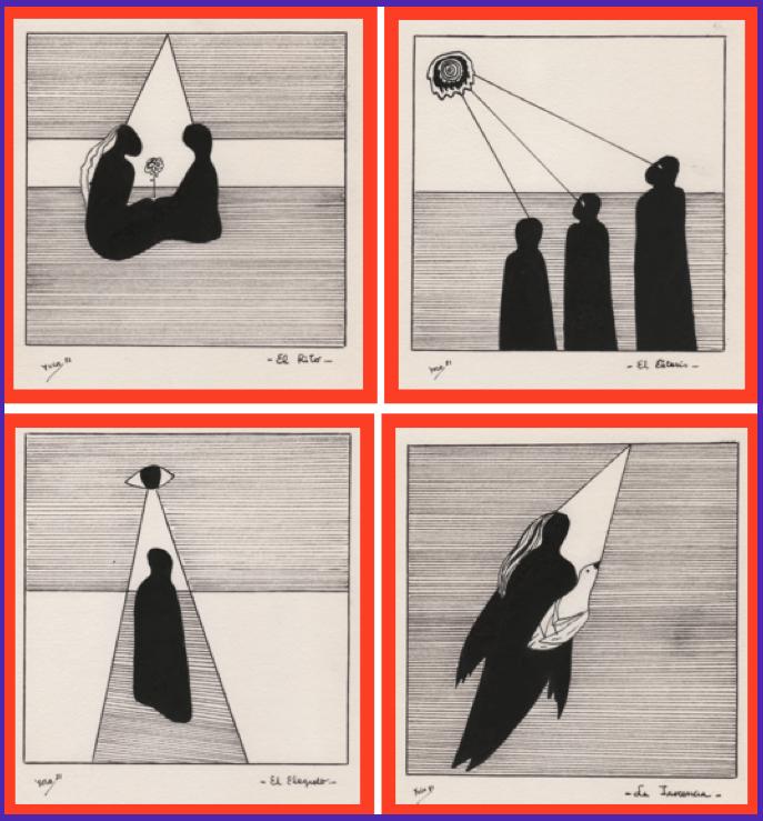 Desde el otro lado del cuadro dibujos 81 yolanda e in for Sillon de psiquiatra