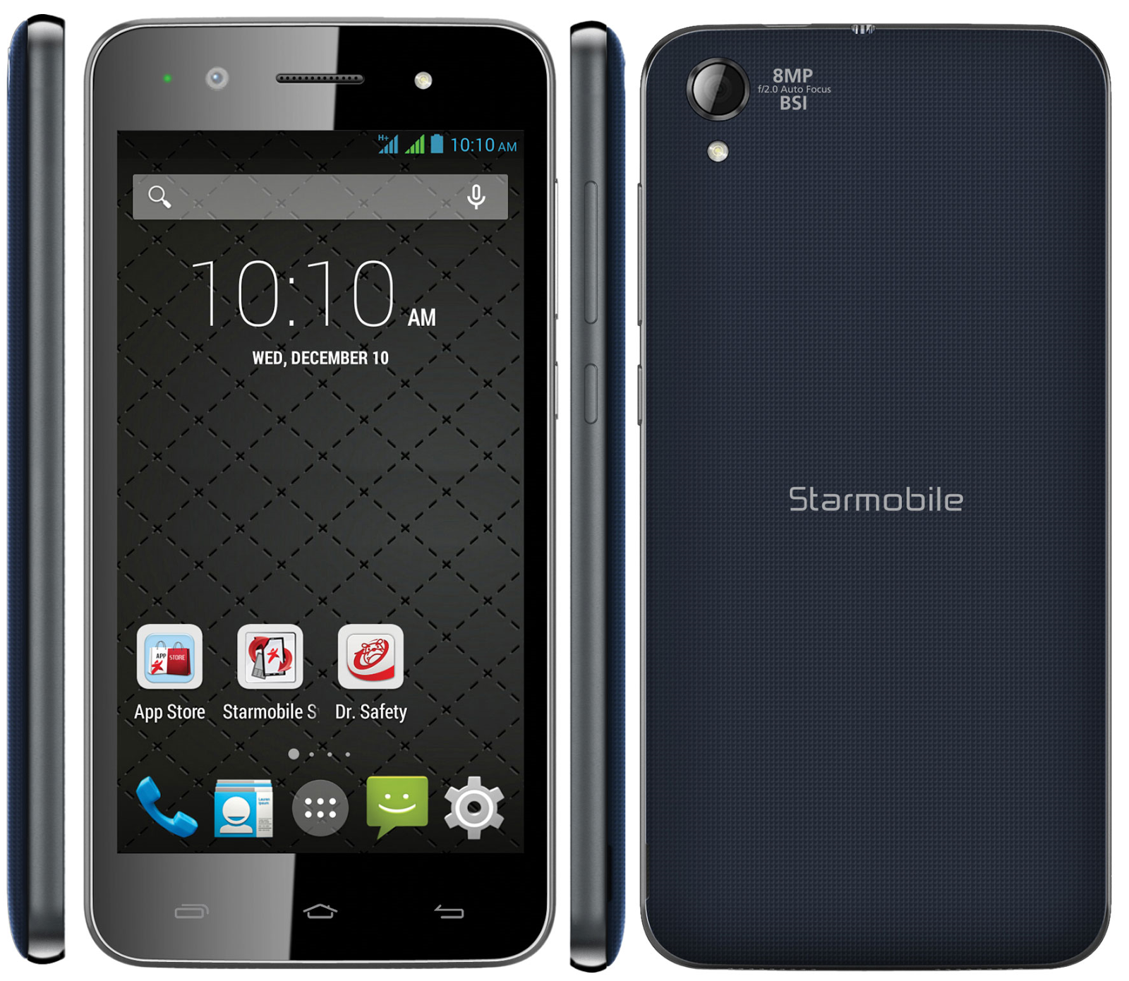 Starmobile UP HD High Definition Selfie Android Smart Phone ...