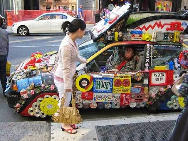 Modifikasi Mobil Unik dan Lucu