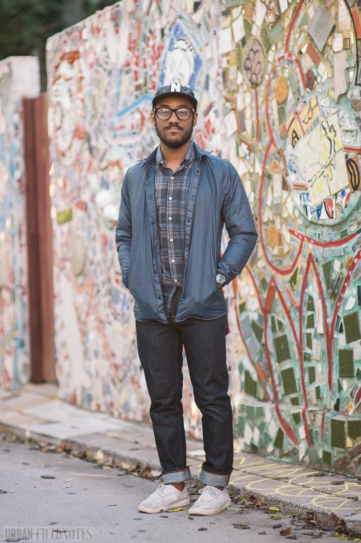 Urban Fieldnotes: Saeed Ferguson, behind Ps and Qs Shop, Philadelphia