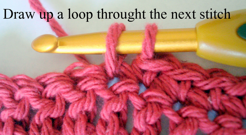 Crochet: Double crochet (dc) and single crochet (sc) decrease stitch ...