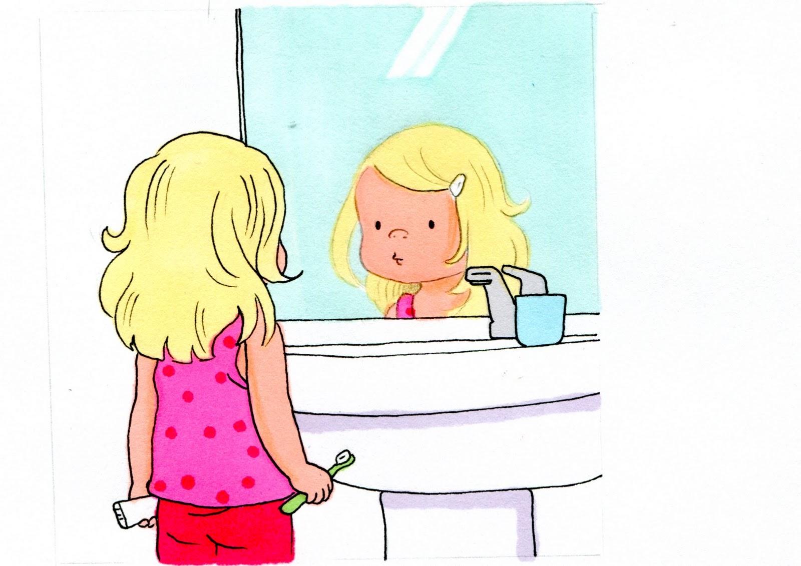 la petite vie de bien se brosser les dents. Black Bedroom Furniture Sets. Home Design Ideas