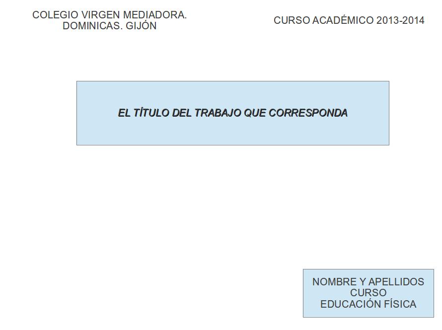 EL MARAVILLOSO MUNDO DE LA EDUCACIÓN FÍSICA: 1º BACHILLERATO