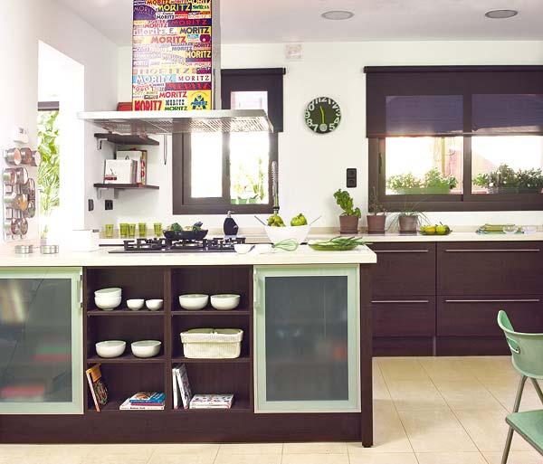 Cozinha com sala de jantar e sala de estar decora o e for Sala de estar ikea
