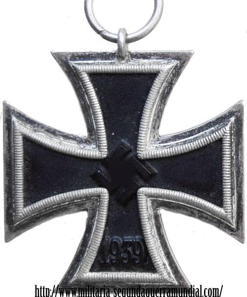 Cruz de hierro, medalla alemana III Reich