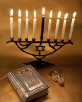 menorah and torah hanukkah ideas for the NAMC montessori culture curriculum activities