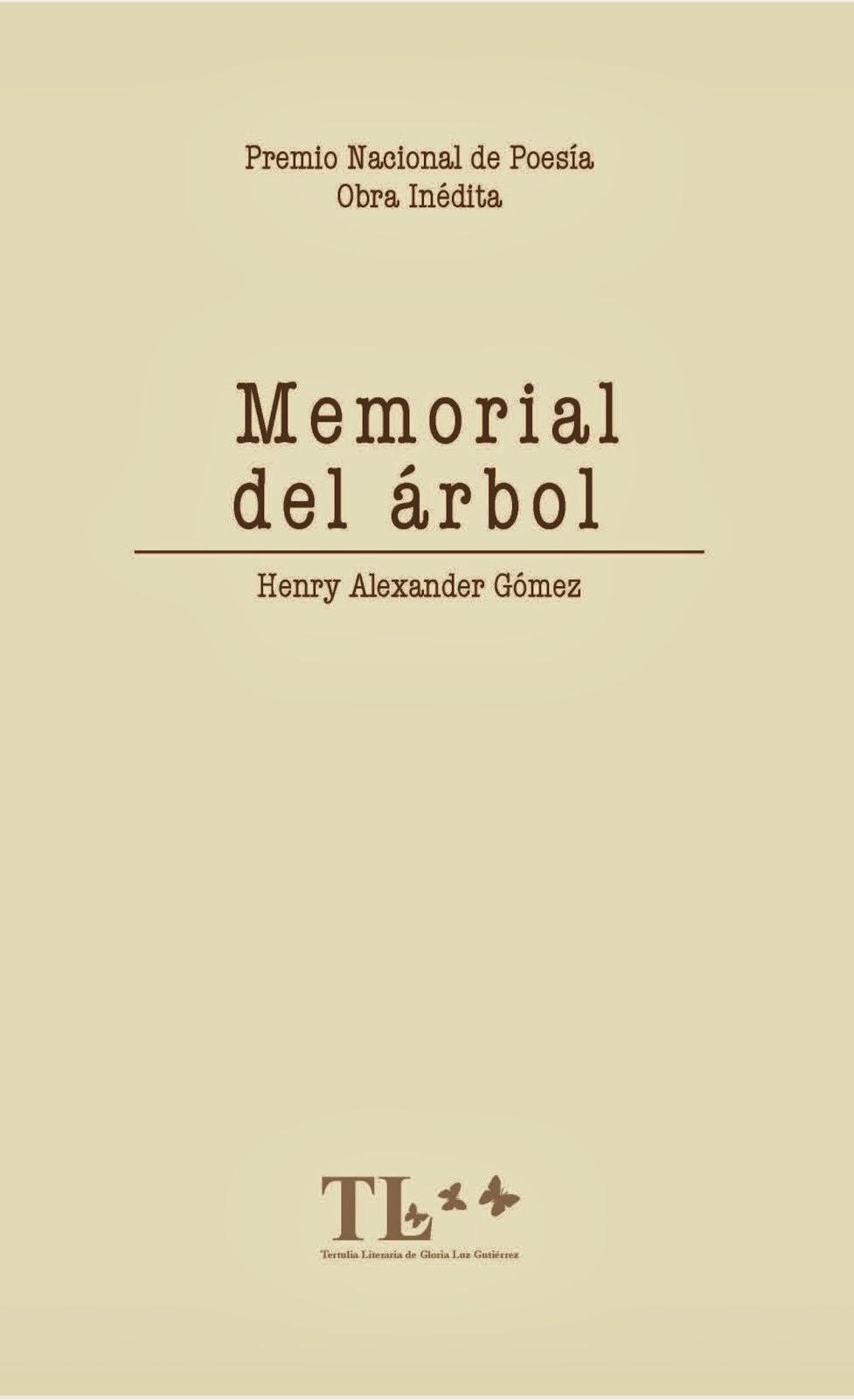 """Poemas del libro """"Memorial del árbol"""""""