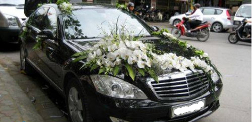Cho thuê xe cưới Mercedes S500